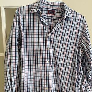 UntuckIt size Large Casual Long Sleeve Button Down